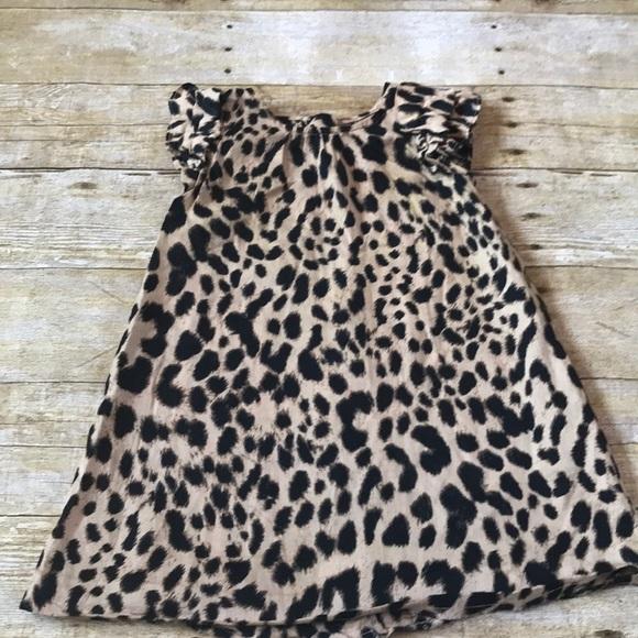 Gap Dresses Baby Leopard Print Dress Poshmark